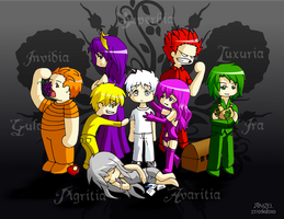 The Seven Deadly Sins by OkamiTenshi-94