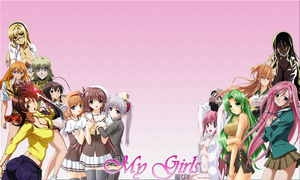 My Girls ~Anime Female Collection~ by Gamex101