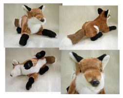 Big Foxer Plush by SarityCreations
