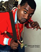 Holiday Project pt1_Kanye West by agentluap