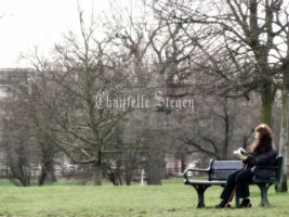 Reading in the park 9046 by Maxine190889