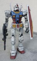 RX-78 Mobile Suit Gundam by randychen