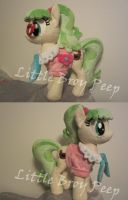 my little pony plush Miss Peachbottom (commission) by Little-Broy-Peep