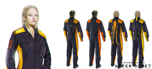 After Reset concepts Engineering Jumpsuit II by blackcloudstudios