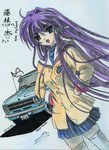 Kyou Fujibayashi - Clannad by Night-traveller