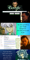 Loki and Bakura V - Rise of the Fangirls by Witty-Allowishus