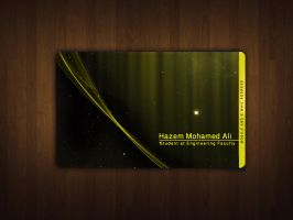 Hazem Business card by Atef-Emran