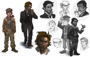detective and disciple concept by salahh