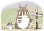 3 of 28: Totoro on Holiday by myousa