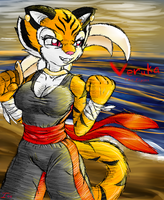 Veruka the tigress by Ionic44