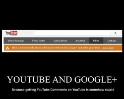 Parody Demotivator: YouTube and Google+ by SilverZeo