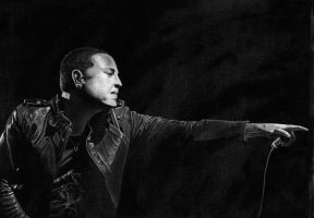 Chester Bennington by Tawastman