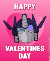 Transformers Valentines Card 2013 by deadcal
