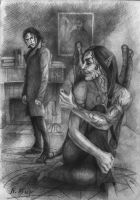 Nathaniel and Bartimeus by Natamur