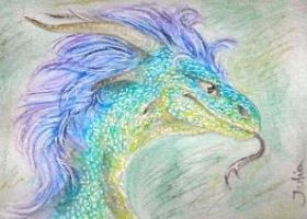 Living Rainbow -ACEO- by silverybeast