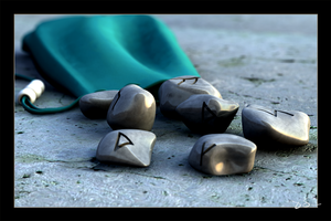 Rune Stones by chromosphere