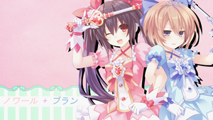 Noire and Blanc Wallpaper by missy28352