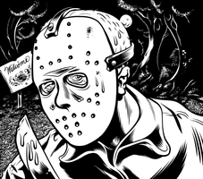 Jason Voorhees by Easyhourglass