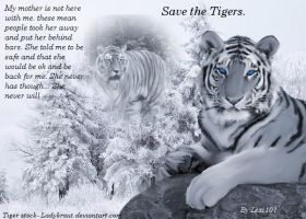 Save the Tigers by AEC101