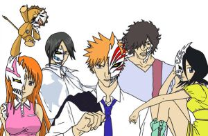 Bleach Hollow Cast W.I.P by AsherothTheDestroyer