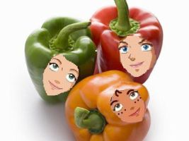 Totally Spies peppers xD by lepota