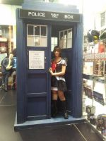 Comic Con Experience 2014 - Doctor who by aprict