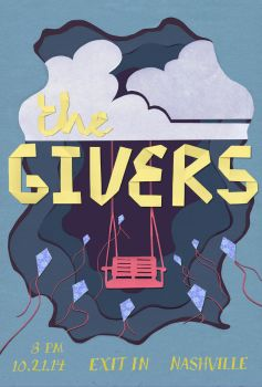 The Givers papercut poster by kcimaginary