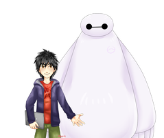 This Is Baymax by aquaticsky