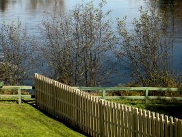Nature_scape_The fence by Aimelle-Stock