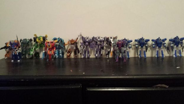 86 Transformers Cast by ShadowApook