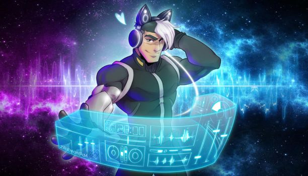Commission: DJ Shiro by zillabean