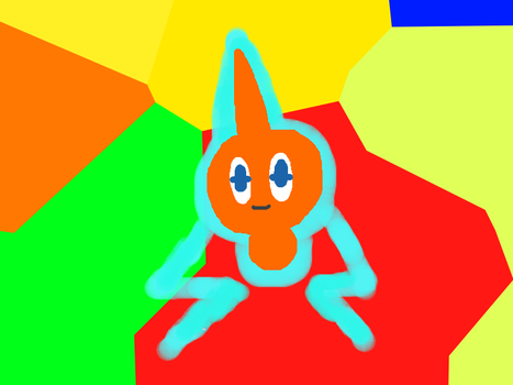 Rotom by Icebeam1stTheClaw