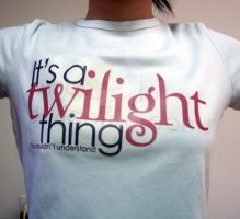 Twilight Shirt Printed by Wind-Up-Doll