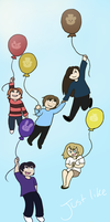 Just Like Balloons by kittychan1997