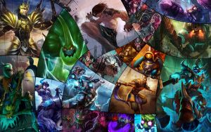 League of Legends Jungler Wallpaper - All Junglers by FranklinZero