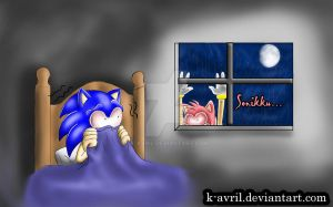 Amy 'Stalker' Rose by k-avril
