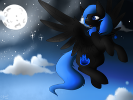 Midnight Light Commission by 3lasticArts