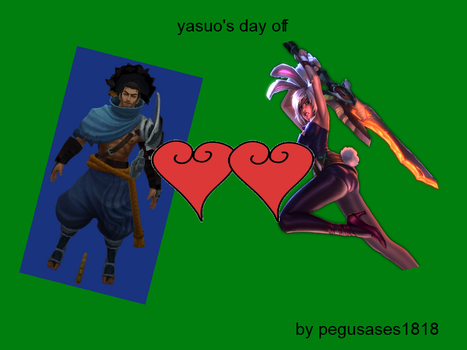 yasuo's day off by pegusases1818