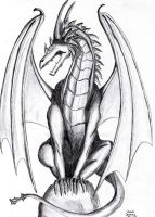Dragon from 2004 by o-Anubis-o