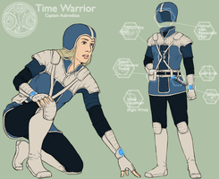 Time Warrior Captain by Girl-on-the-Moon