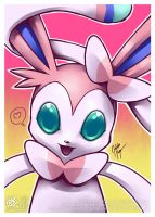 Sylveon by goldhedgehog