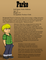 Parke Character ID by Yeldarb86