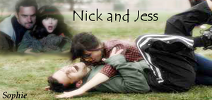 Nick and Jess Signature by SophieTheVampire
