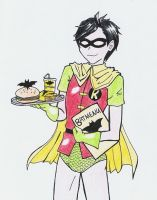 Bat Burgers by Haycle