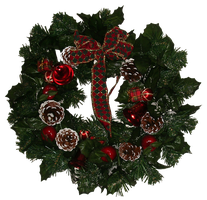 Christmas Wreath by dkimber