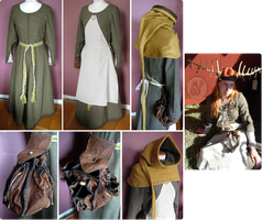 Medieval Clothing by Nymla