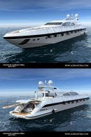Yacht 1 by adit1001