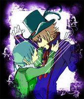 Drocell and Ciel by Riunien