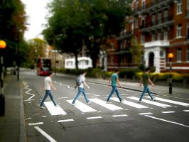 Mes on Abbey Road by spider-mat
