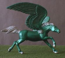 Slytherin Pegasus by Riabhach